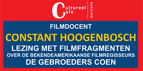 Cultureel Café Dalfsen Constant Hoogenbosch tickets