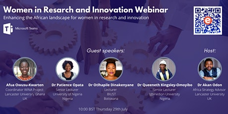 Women in Research and Innovation Webinar tickets