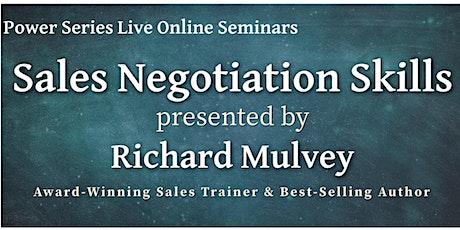 Sales Negotiation - Power Series online tickets