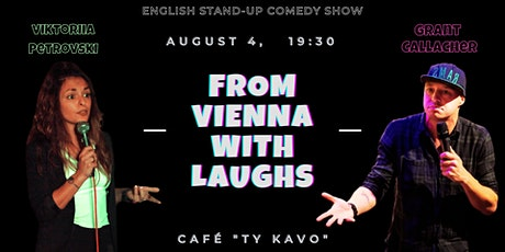 From Vienna with Laughs - English Comedy Show tickets