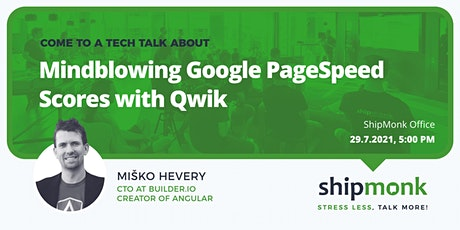 Mindblowing Google PageSpeed Scores with Qwik tickets