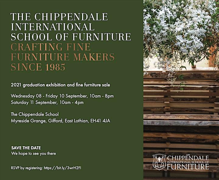 Chippendale School of Furniture Graduate Exhibition 2021 image