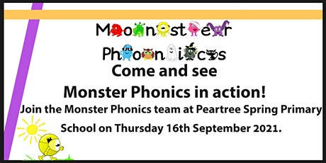 Monster Phonics in action! tickets