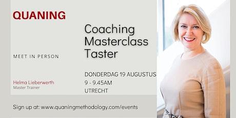 Coaching Masterclass Proeverij tickets