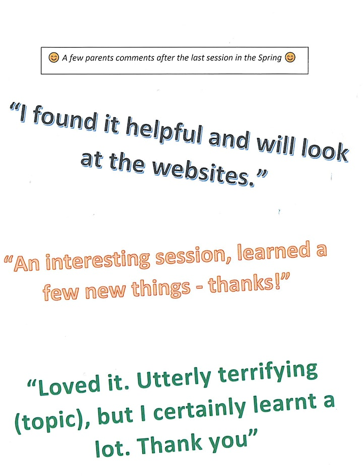 Worcestershire Families - Keeping Children and Young People Safe Online image