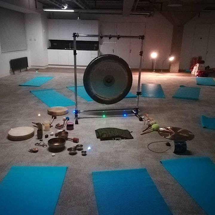 Gong bath meditation and sound journey  in London Islington Saturday image