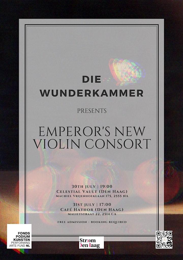 Die Wunderkammer: Emperor's New Violin Consort image