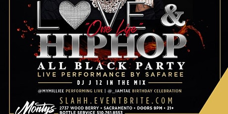 """Love And Hip Hop """"One Life"""" All Black Party Safaree Performing Live tickets"""