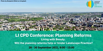 LI CPD Conference: Planning Reforms