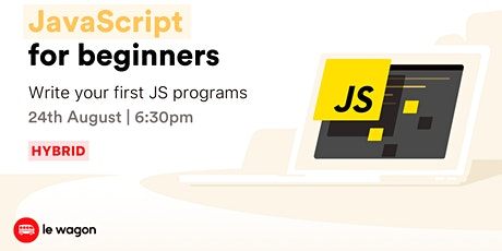 [Workshop] Get Started with Javascript! Tickets