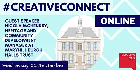 #CreativeConnect Online with guest speaker Nicola McHendry from MHBHT tickets