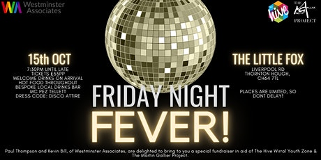 Friday Night Fever Disco @ The Little Fox tickets