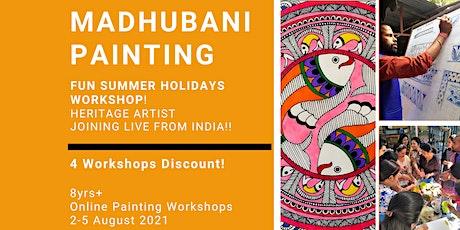 Madhubani Painting-Summer Holidays  Workshop! 4 Workshops Discount tickets