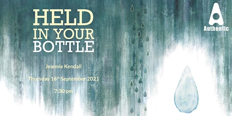 Book Launch (Zoom) Held in Your Bottle tickets