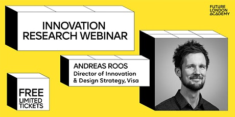 Innovation that excites with Andreas Roos, Visa tickets