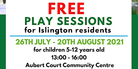 Free Play Sessions for Islington Residents tickets