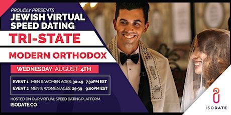 Modern Orthodox Tri State Jewish Virtual Speed Dating tickets