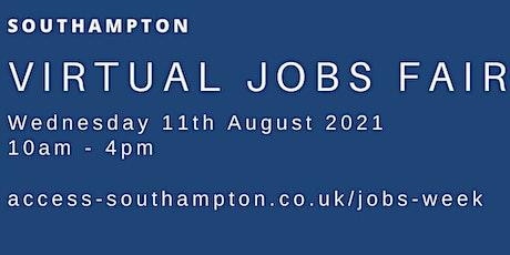 Southampton Virtual Jobs Fair 2021 tickets