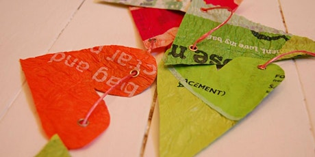 Waste -Free-Wednesdays at The White House - Weaving and bunting tickets