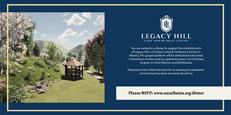Legacy Hill Dinner tickets