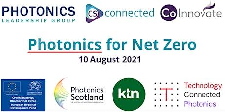Photonics for Net Zero tickets