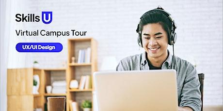 Skills U  | Virtual Campus Tour | UX/UI Design tickets