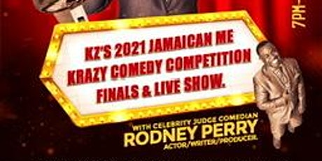 Kz's 2021 Jamaican me Krazy Comedy Competition tickets