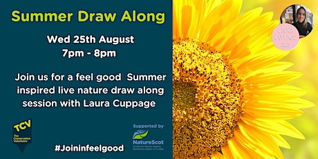 Summer Draw Along with Laura tickets