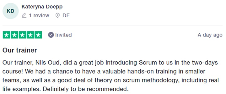 Certified Scrum.org Training | Applying Professional Scrum (APS) image