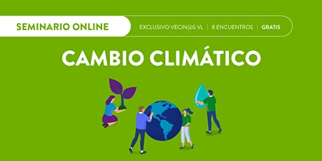 Reunión informativa  ► Seminario #online de Cambio Climático ingressos