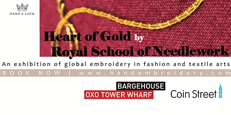 An Introduction to Goldwork Embroidery by Royal School of Needlework tickets