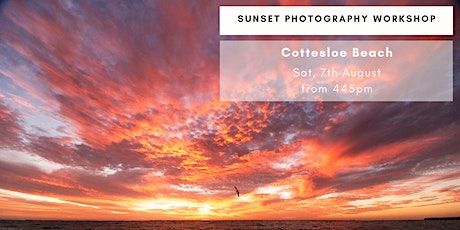 Sunset Photography - Cottesloe Beach tickets