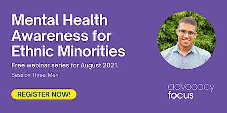 Mental Health Awareness for Ethnic Minorities - Men tickets