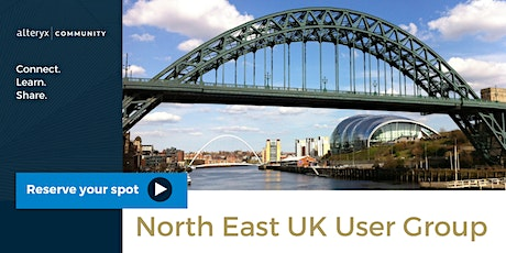 North East, UK Alteryx User Group - Virtual tickets