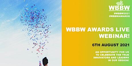 WBBW Awards 2021 tickets