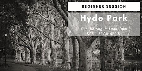 Photography Beginner Workshop - Hyde Park tickets