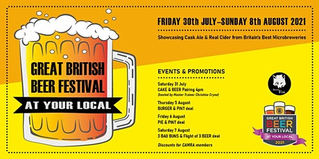 Great British Beer Festival at Your Local - Snooty Fox tickets