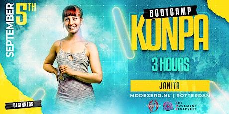 Konpa Bootcamp in Rotterdam by Janita  - Mode Zéro tickets