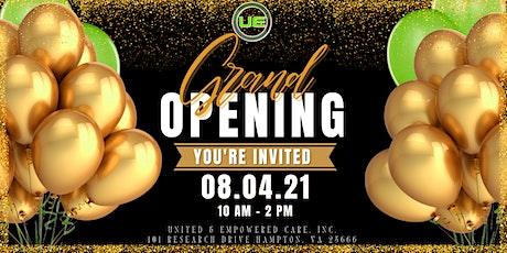 U&E's Grand Opening tickets