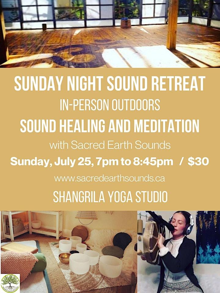 Sunday Night Sound Retreat image