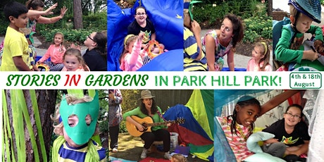 Stories in Gardens in Park Hill Park (0-5yrs) 1 child only tickets