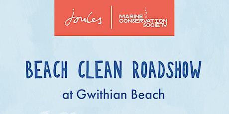 Joules Beach Clean Roadshow - Gwithian Beach Tuesday 17th August tickets