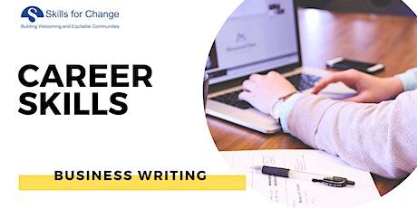 *2021 - Business Writing (Online Class)| Toronto tickets