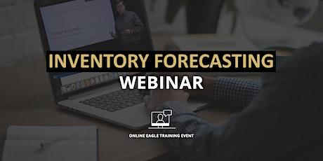 Inventory Forecasting Webinar tickets