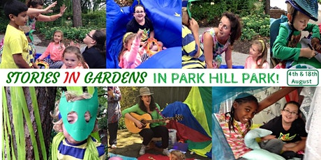 Stories in Gardens in Park Hill Park (0-5yrs) 1child plus 1 sibling tickets