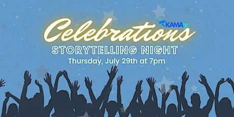 Storytelling Night - Celebrations tickets