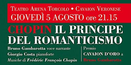 Chopin | Il principe del Romanticismo biglietti