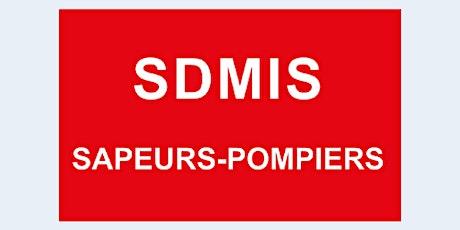 ARNAS  -SDMIS,  13h20 - 19h30 : accueil du centre de vaccination billets