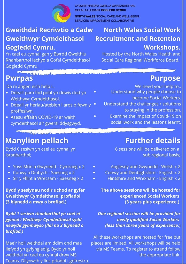 Children's Social Work Recruitment - English Workshop image