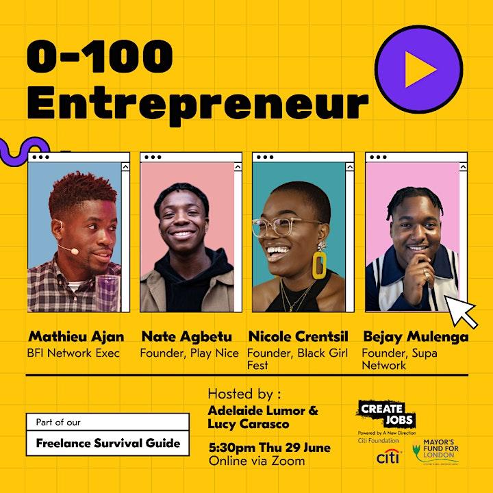 0-100 Entrepreneur image